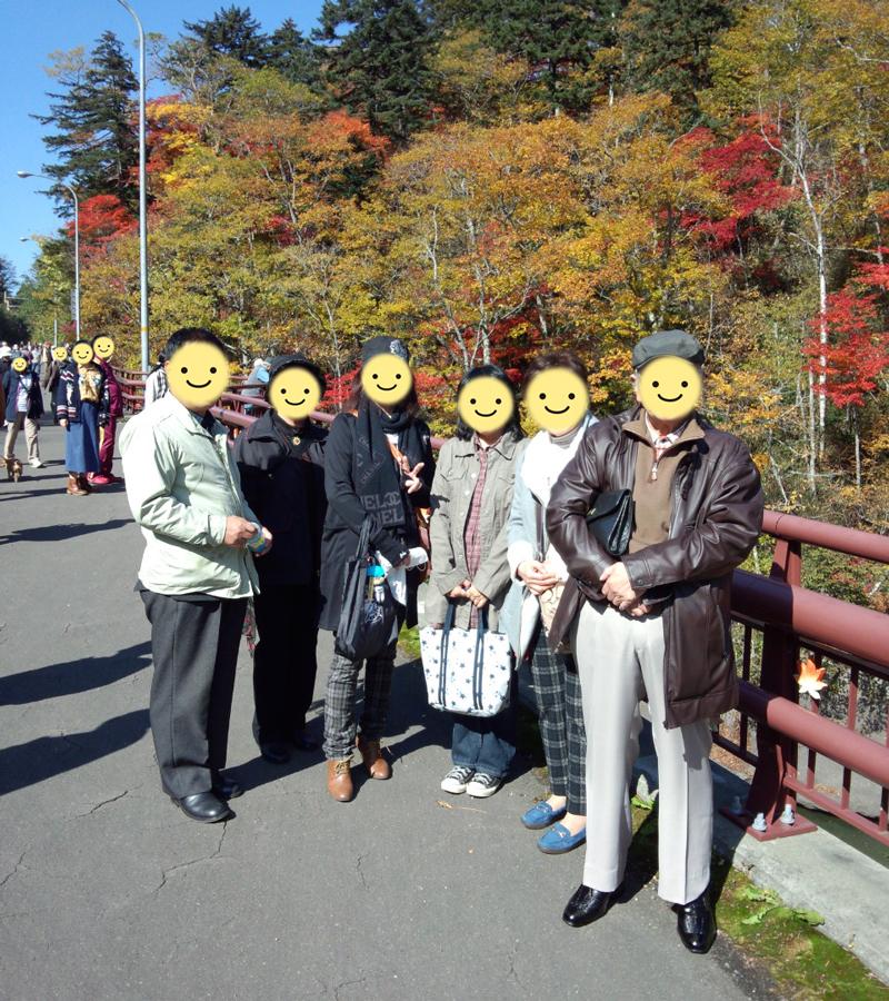 10月12日 「紅葉オフ会」~白扇の滝、三段滝、恵庭湖など