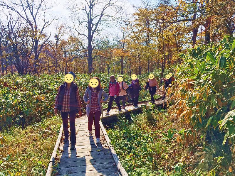 2015年10月18日(日)秋色に輝くニセコでフットパス&神仙沼