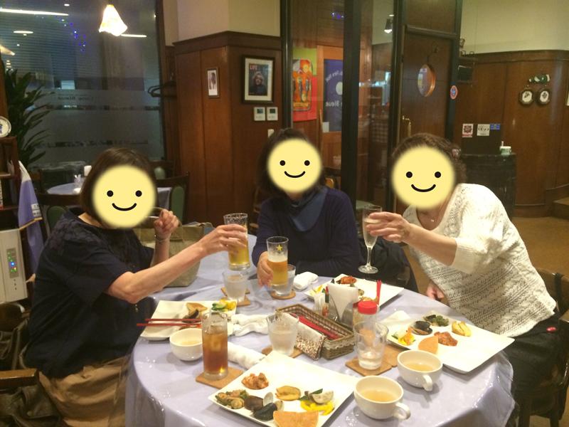 2016年4月28日(木)59歳以下の夕食会