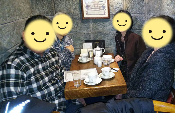 40歳以上のコミン(未婚者)の会~2017年12月9日