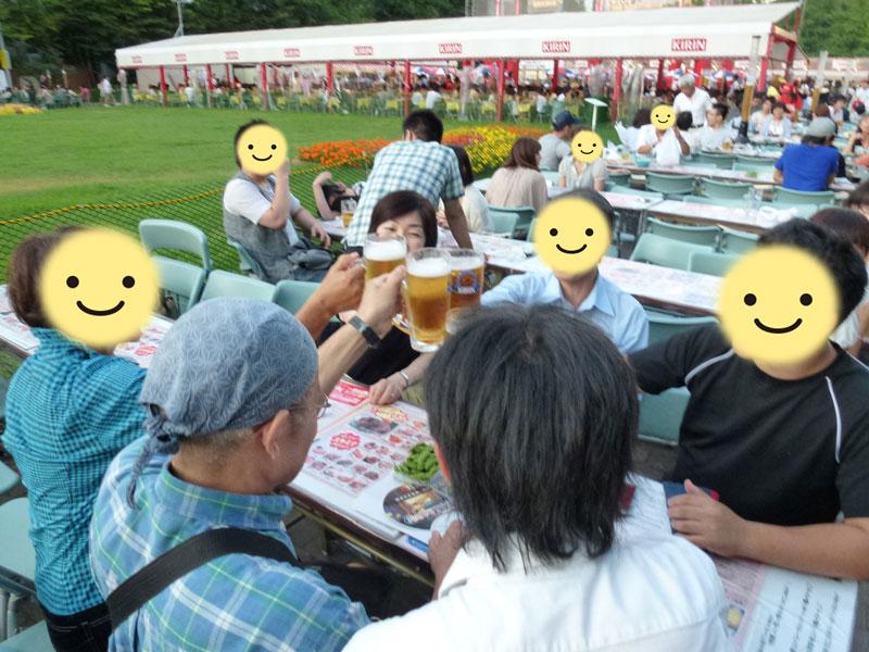大通ビアガーデンのオフ会~2011年8月13日