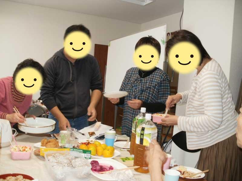 持ちよりパーティーランチ会~2011年10月22日