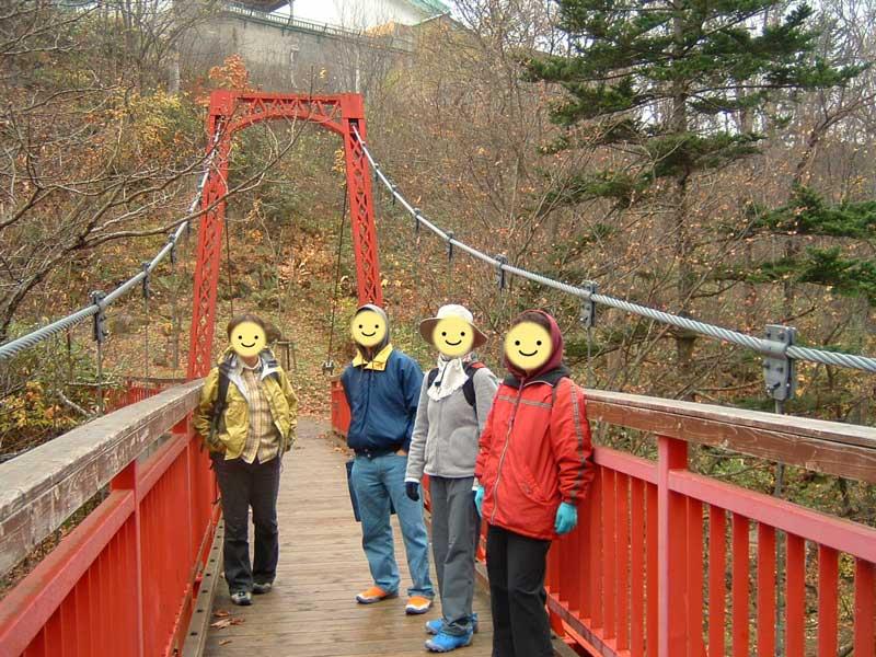 観楓会定山渓カッパ淵ウォーキングオフ会~2011年10月30日
