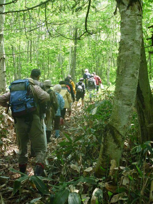 マオイ丘陵の里山散策と春の野で食事オフ会~2012年5月26日