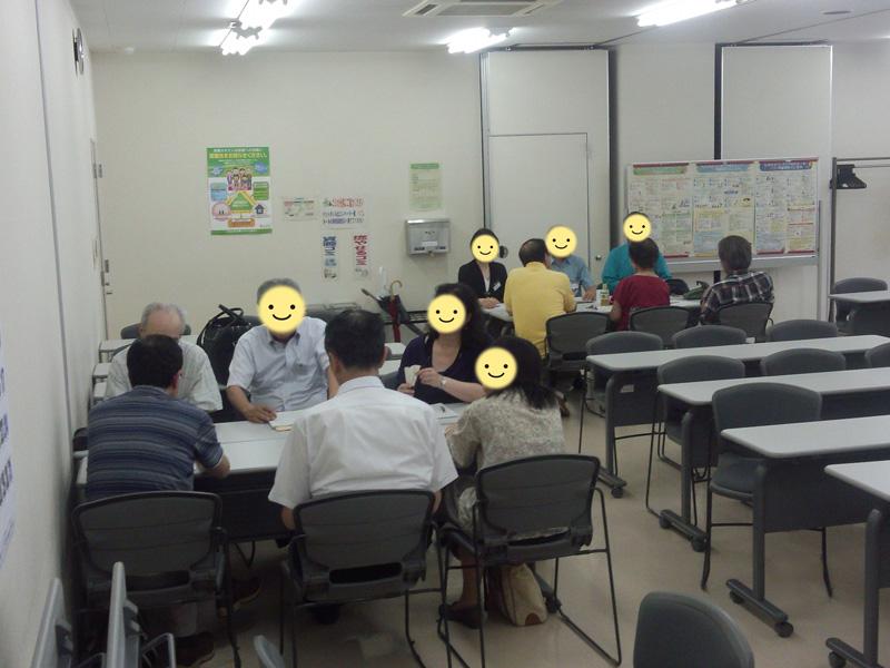 会員交流会~2013年8月24日