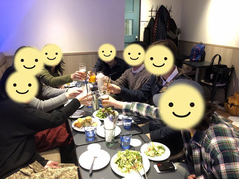 2345交流会後のオフ会~2018年2月3日