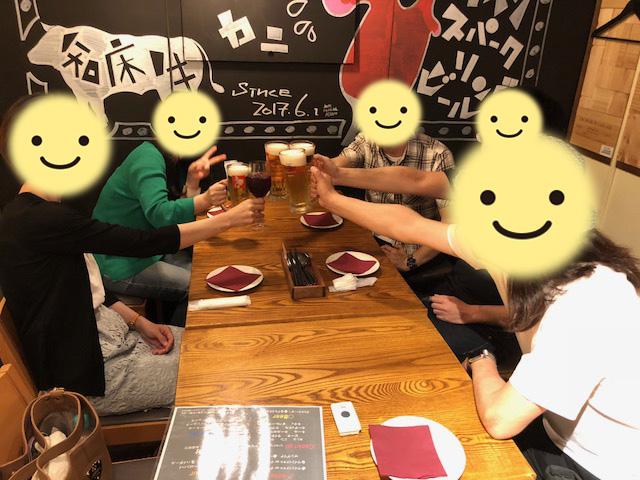 交流会後2345神保町オフ会~2018年5月19日