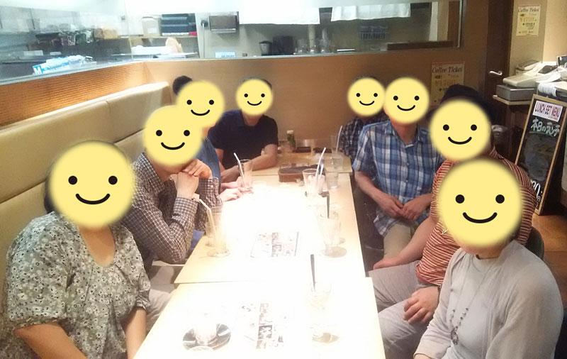 2345交流会後のお茶会~2018年8月4日