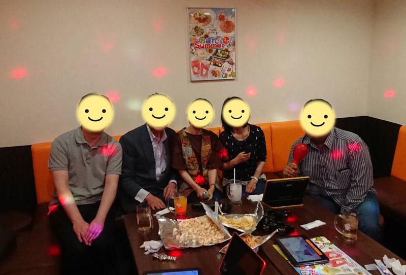 カラオケ・オフ会~2018年8月11日