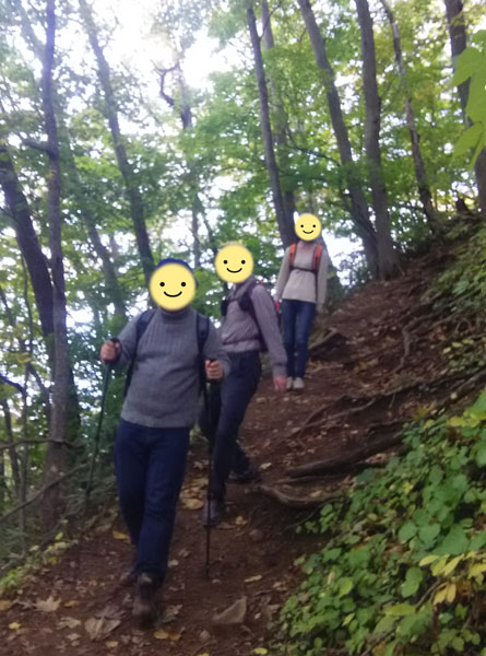 2345交流オフ会~紅葉の藻岩山登山