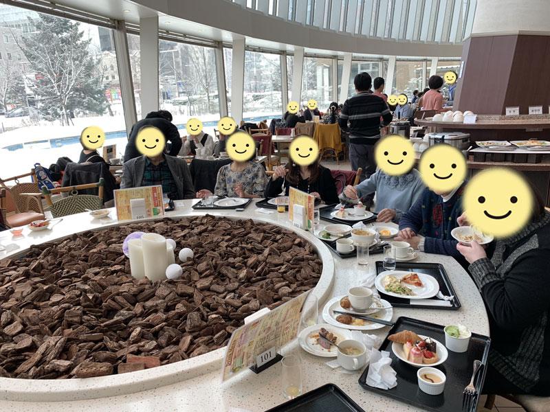 ホテルビュッフェ新年会~2019年1月5日