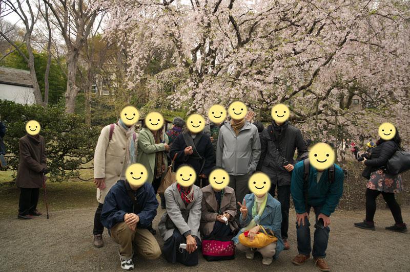 花見オフ会_東京2019年3月30日