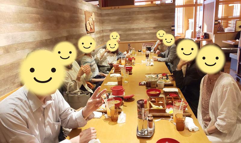 独身向けアラカン交流会後のオフ会・夕食会~2019年6月8日【北海道】