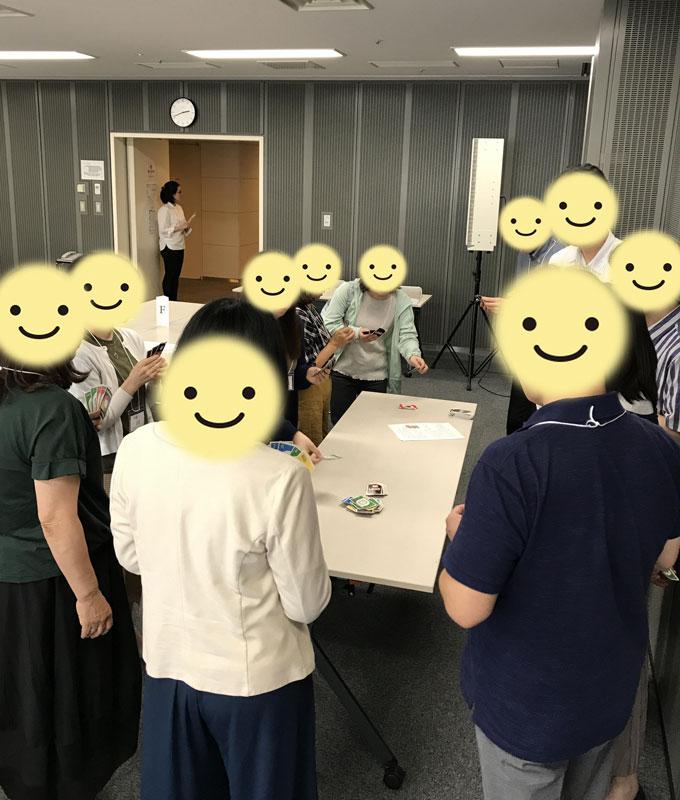 独身向け交流会でUNO(東京)2019年7月6日