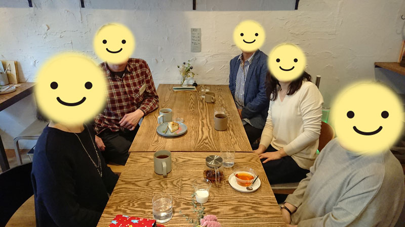 3040お茶会~2020年3月29日【北海道】